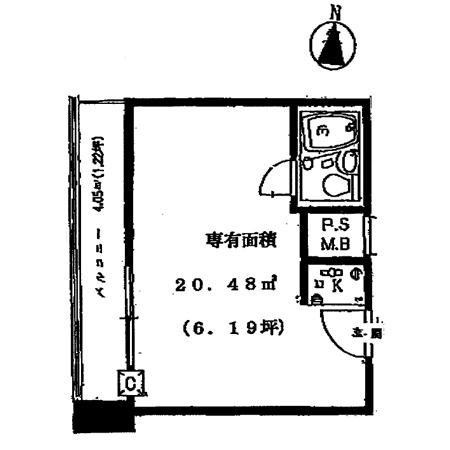 インペリアル御茶ノ水 間取図