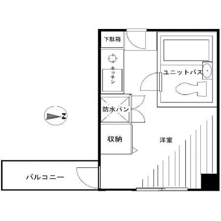 八丁堀東豊エステート 間取図