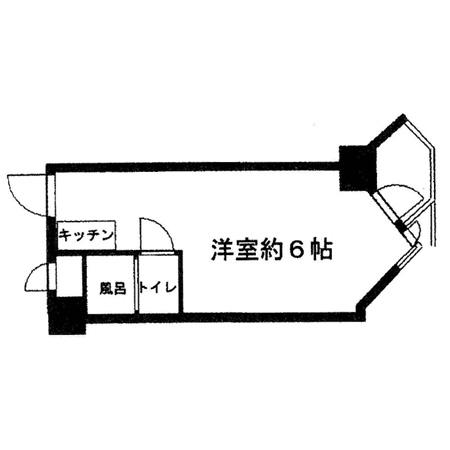 東京ベイビュウ 間取図