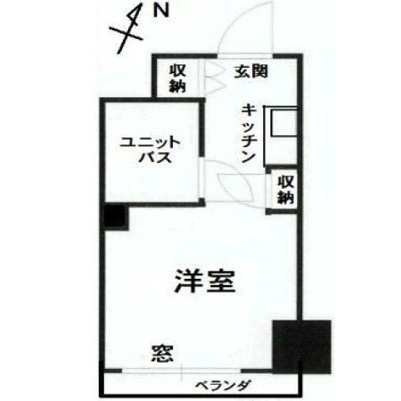 サンハイム田町 間取図