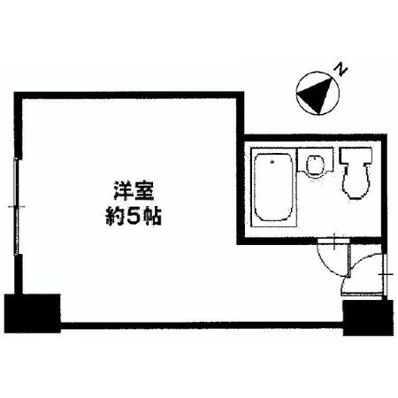 秀和赤坂レジデンシャルホテル 間取図