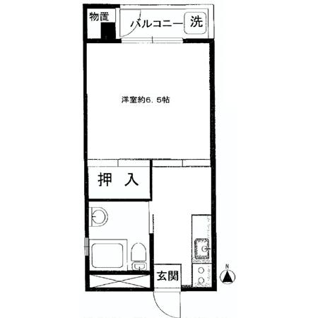 セザール早稲田 間取図