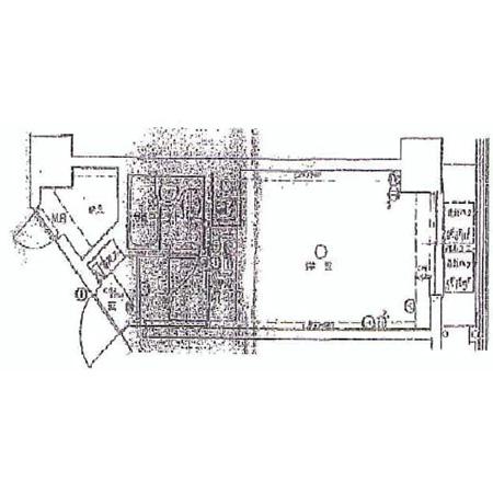 ライオンズマンション市谷薬王寺 間取図