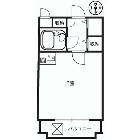 ミリオンコート神楽坂 間取図
