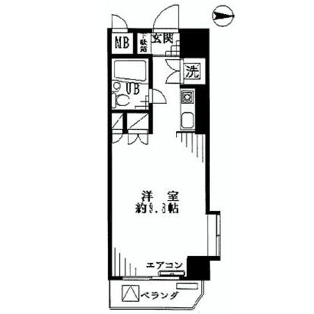 ストーク北新宿 間取図
