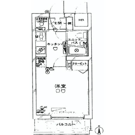 ルーブル新宿西落合II※賃貸中 間取図