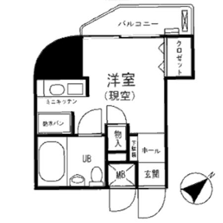 シティハイツ新大塚 間取図