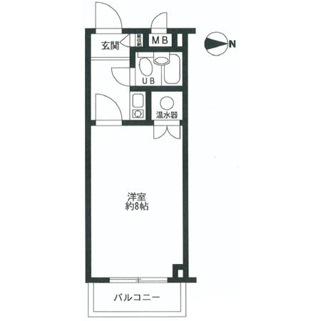 文京第3ライオンズマンション 間取図