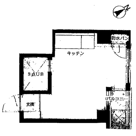 ダイカンプラザ上野Ⅲ号館 間取図