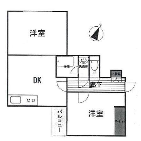 ワールドマンション田原町 間取図