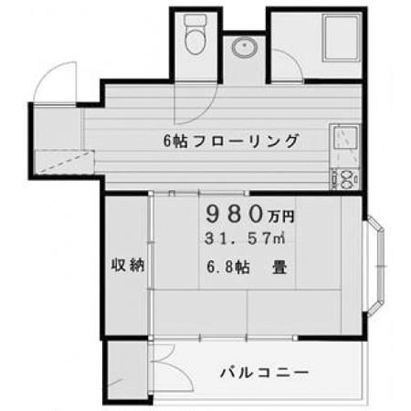 浅草橋フラワーホーム 間取図