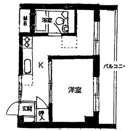 錦糸町ハイタウン 間取図