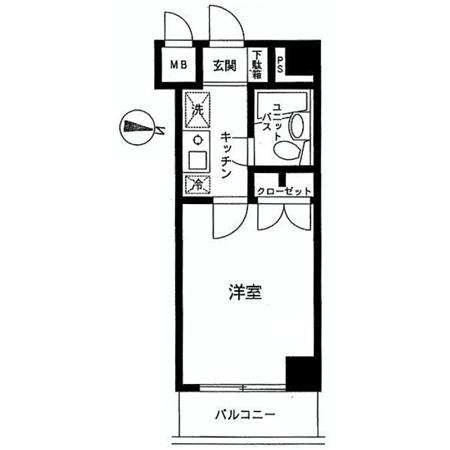 NICアーバンスピリッツ本所吾妻橋 間取図