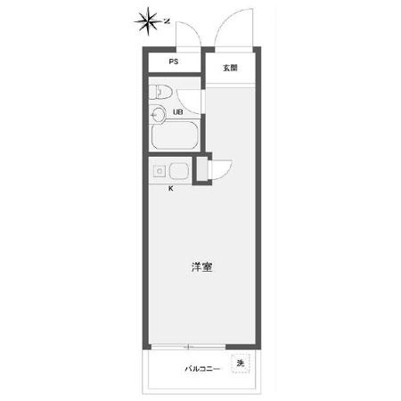ホープ錦糸町 間取図