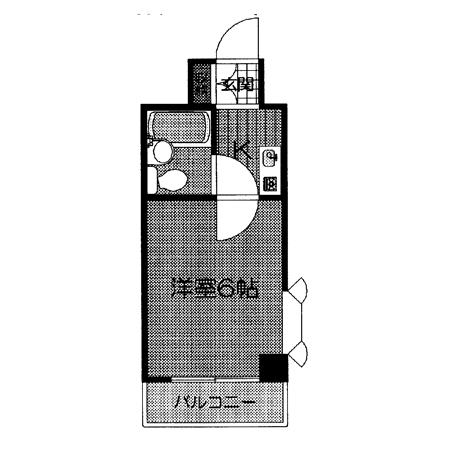 セザール戸越 間取図