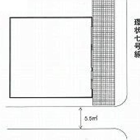 ハイツ柿の木坂 間取図