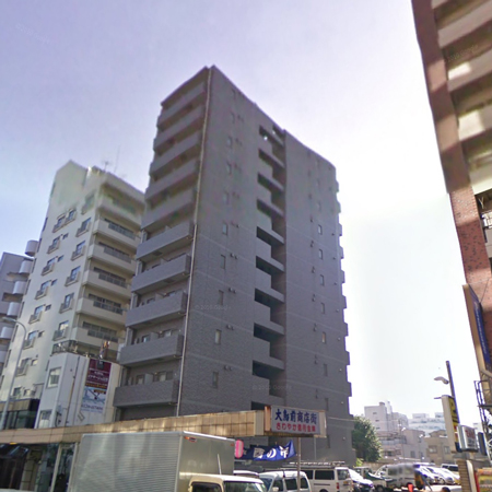 スカイコート目黒壱番館 概観