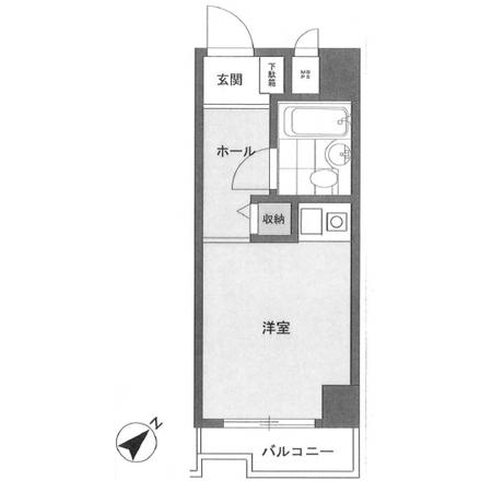 パレ・ドール石川台 間取図