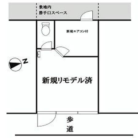 北烏山ロータリーマンション 間取図