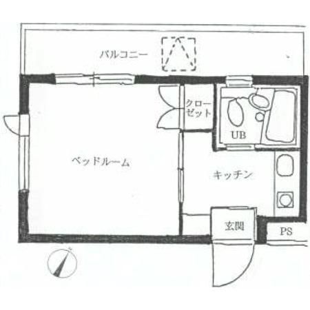 ハイタウン世田谷代田 間取図