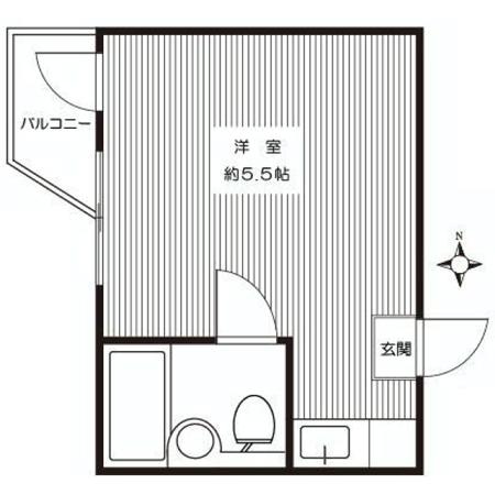 メゾン・ド・カフェイユ 間取図