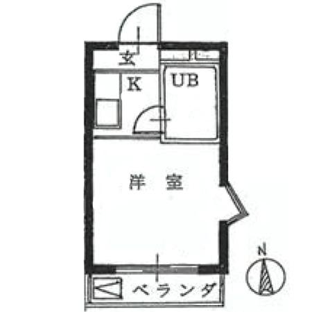 メゾン・ド・プリメ 間取図