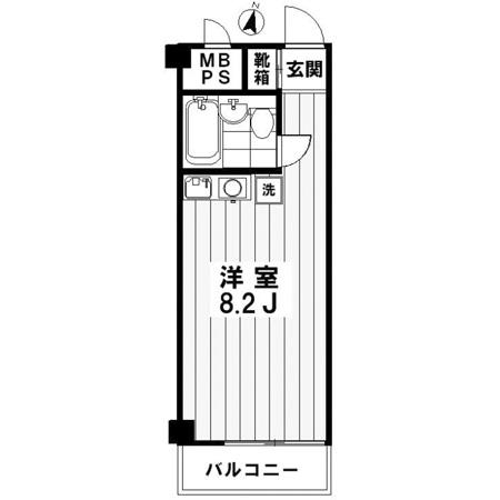 ライオンズマンション渋谷 間取図