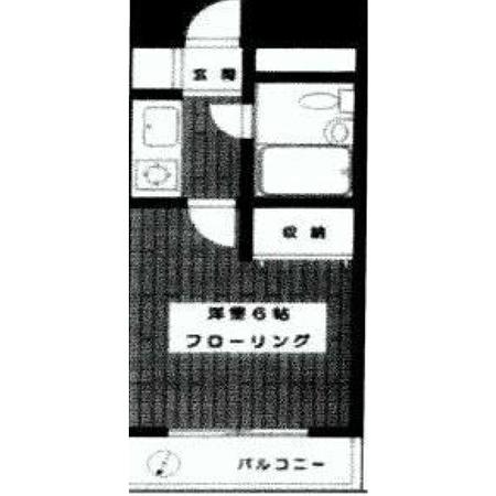 ダイホープラザ幡ヶ谷 間取図