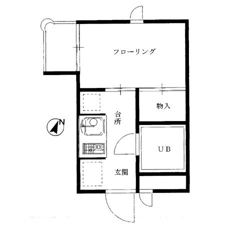 シンアイプラザ中野本町 間取図