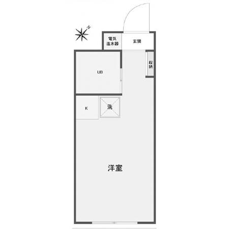 スカイコート高円寺 間取図