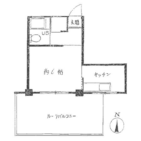 井荻マンション 間取図