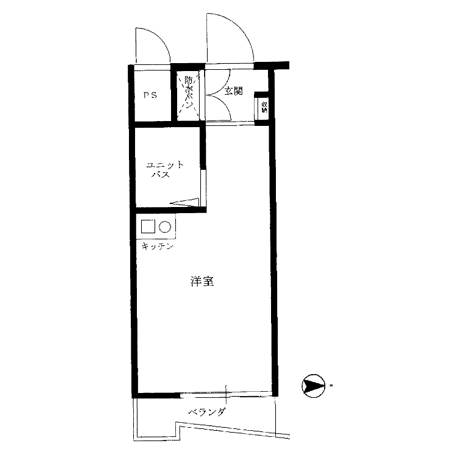 メインステージ井荻駅前 間取図