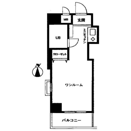 トップ東高円寺 間取図