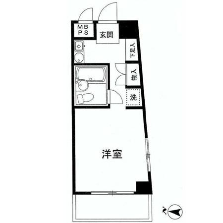 マイステージ笹塚 間取図