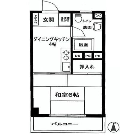 ライオンズマンション新高円寺 間取図