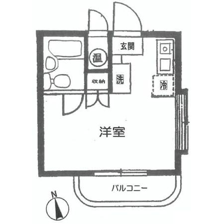 メゾン・ド・セール 間取図
