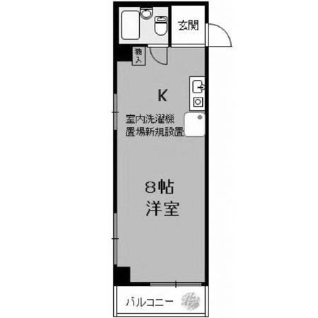 菱和パレス滝野川CDI 間取図
