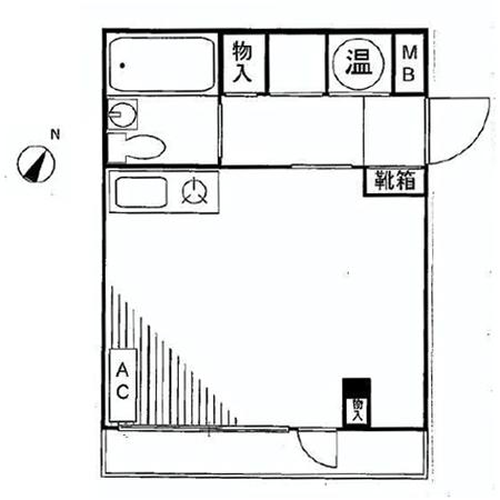 コスモ駒込 間取図