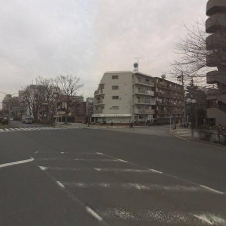 高島平ホワイトコーポラス 概観