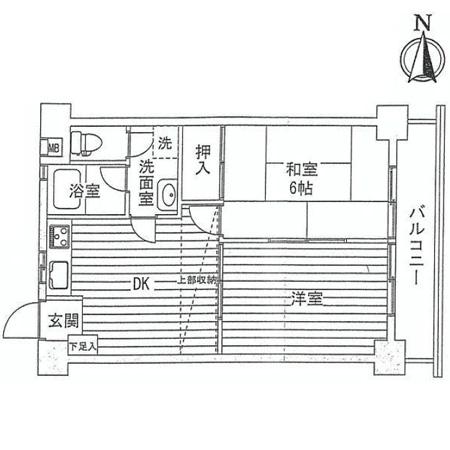ニューメゾン徳丸 間取図