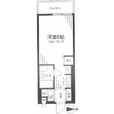 TOP下赤塚第三 間取図