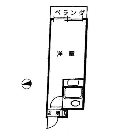 アーバン・メゾン上石神井 間取図