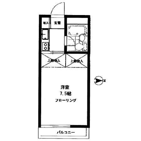 豊島園ファミリーマンション 間取図
