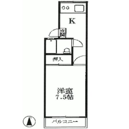 大洋桜台マンション 間取図