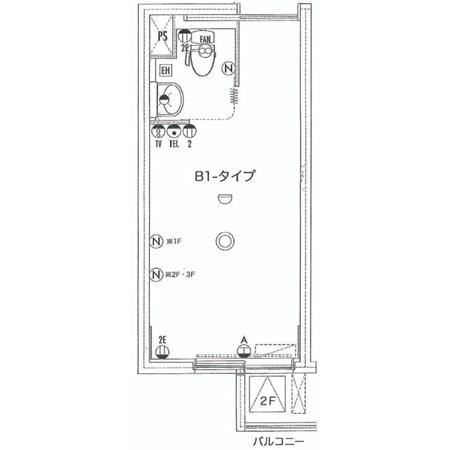 ファミニュー石神井 間取図