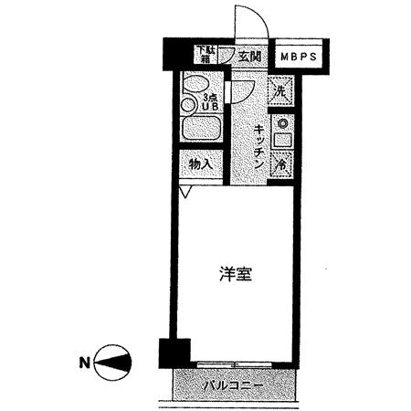 パレ・ドール亀有Ⅱ 間取図
