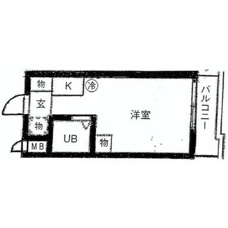 トップ西新井 間取図