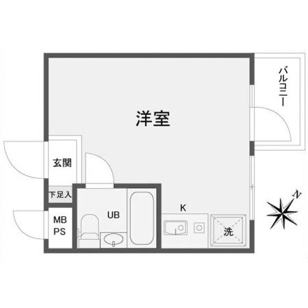 パレ・ドール高砂I 間取図